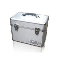 Double Transmitter case (X3Models) - VALIGETTA IN ALLUMINIO CON LOGO X3MODELS PER 2 TX CON SPUGNA PRETAGLIATA - COMPATIBILE CON