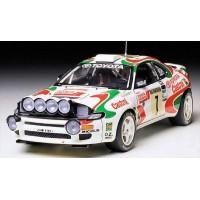 TAMIYA - AUTO TOYOTA CASTROL CELICA GT-FOUR '93 MONTE-CARLO RALLY WINNER1:24