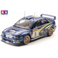 TAMIYA - AUTO SUBARU IMPREZA WRC 2001 1:24