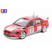 TAMIYA - AUTO MITSUBISHI LANCER EVO VII WRC 1:24